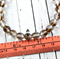 8mm Champagne Czech Faceted Bead Strand Of 50 Stones