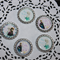 BOTTLE CAP EMBELLISHMENT SET - FROZEN SISTERS