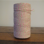 FULL ROLL - 220 Metres Watermelon Twine - 4 Ply