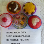 Mini- Cupcakes Kit (mohair)