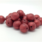 Silicone Teething Chew Beads - 15mm Round - 10 PACK