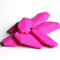 10xSalix Leaf Silicone Teething Beads Fuchsia