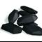 10xSalix Leaf Silicone Teething Beads Black
