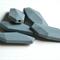 10xSalix Leaf Silicone Teething Beads Grey