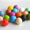 20x12mm Round Silicone Teething Beads