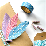3 Pack - Faux Feathers. Gift Wrap Embellishments.