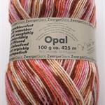 Opal Sock Yarn, Opal Petticoat, RARE! self-striping knitting yarn, 100g, 425m