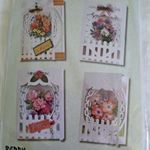 Reddy Card Making Kit 4 Fancy 3 D Cards to make