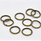 9mm Bronze Tone Open Jump Rings