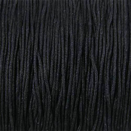10mts Black Cord Cord 2mm