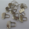10 x mini key fob hardware sets