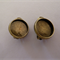 10 x Clip on earring trays AND glass domes - Antique Bronze