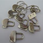 10 x mini key fob hardware sets