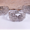 3x Hinged Silver Bangles / Bracelets / Cuffs