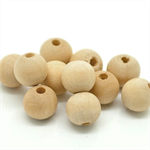 FREE SHIPPING 10 pieces 16mm round natural wooden wood beads bead craft DIY raw