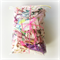 Pink/ Purple Designer Fabric Scrap Bag - Jennifer Paganelli, Amy Butler