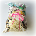 Eclectic Designer Fabric Scrap Bag - Jennifer Paganelli, Amy Butler