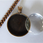 10 x DIY Copper pendant making kits