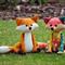 Fox Sewing Pattern PDF Patchwork Fox Softie Stuffed Animal Pattern