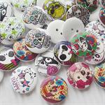 20 Skull Buttons