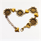 5 heart Bracelets Antique style