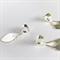 15 silver heart Pendant bails