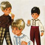 1960s Boys Formal Wear Sewing Pattern - Size 4 Style 2493