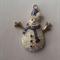 1 Charm Xmas Snowman