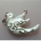 1 Charm Xmas Dove with Holly branch
