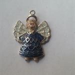 1 Charm Xmas Blue Angel