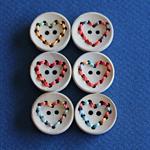 6 Heart Buttons