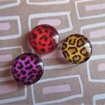 3pcs 12mm Handmade Glass Cabochons