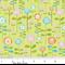 Happier Green - Riley Blake Laminated Cotton