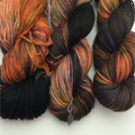 Hand dyed extra fine merino nylon blend yarn 5ply yarn