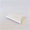 10 x Small Pearl White Pillow Boxes (7.5cm x 7cm x 2cm)