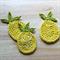crochet pineapple | applique | motif
