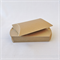 10 x Kraft Brown Pillow Boxes (8.5cm x 7cm x 2.5cm)