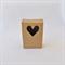 4 x Kraft Brown Gift Boxes (10cm x 7cm x 3cm)