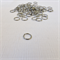 100 x Black Nickel Jump Rings (10mm)