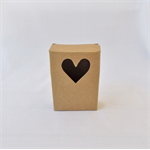4 x Kraft Brown Gift Boxes (10cm x 7cm x 3cm)