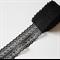 5m Black Bilateral net lace
