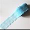 5m Blue Bilateral net lace