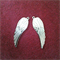 20x Antique Silver Angel Wing Charms Pendants