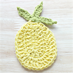 crochet pineapple | applique | motif