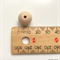Round Wooden Beads 14mm x 10