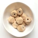 Wooden Geo Beads 16mm x 10