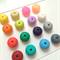 Donut Silicone Beads 25mm  x 5