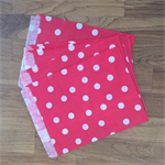 10 x red polka dot paper bags.