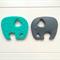 1 x Silicone Elephant (BPA Free)