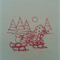 Machine Embroidery Quilt/Craft Block Redwork Elegant Night Sleigh Design